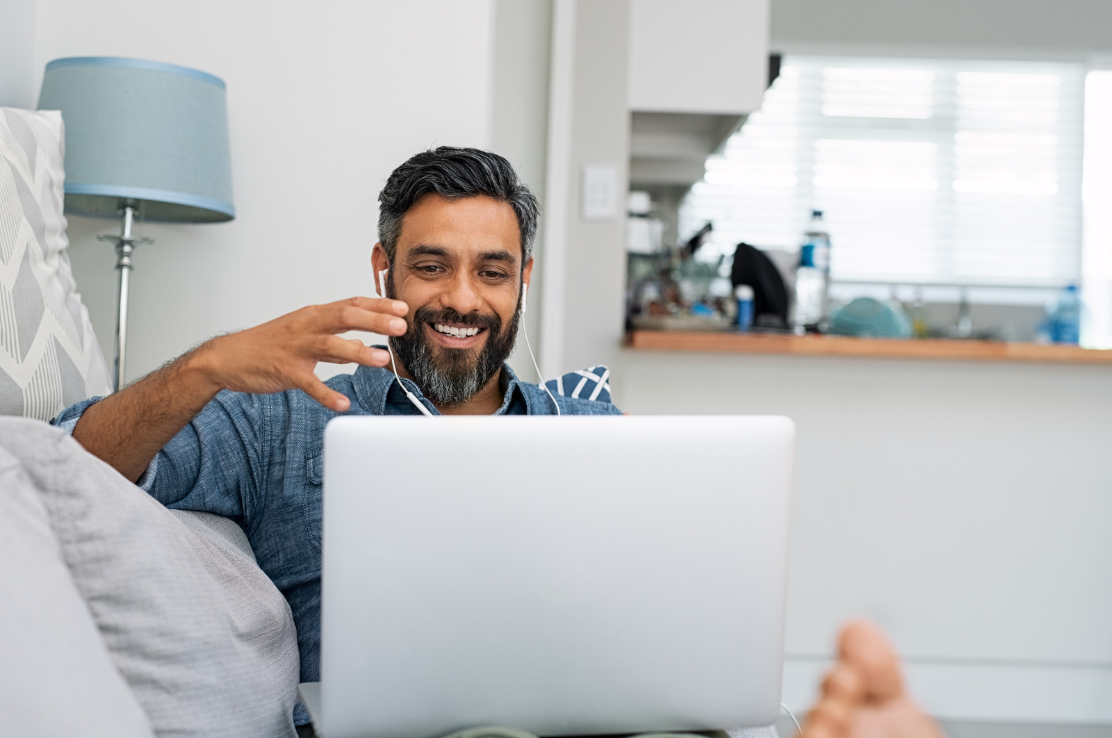 Connecting with Co-workers from Home